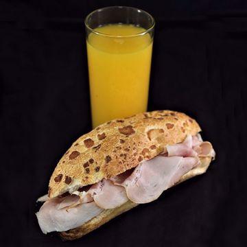 Afbeeldingen van Broodje ham