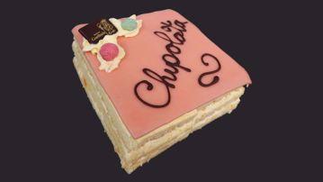 Afbeeldingen van Chipolata taartje 5/6 pers.